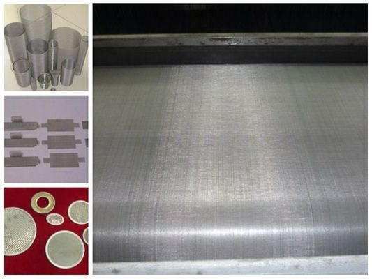 5 Micron Stainless Steel Wire Mesh Dutch Twill Cloth Filter Screen Ultrathin Thickness