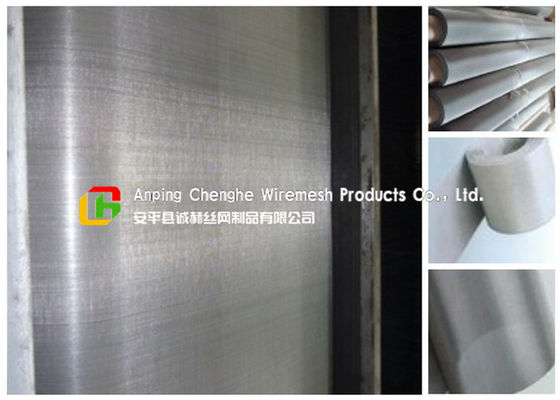 304 / 316 Stainless Steel Wire Mesh Sheets 10 - 300mm Height For Chemical Industry
